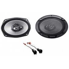 Car Rear Kenwood Factory Speaker Replacement Kit For 2003-2011 Lincoln Town