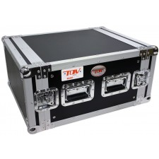 """Pro X T-6RSS 6U Space DJ 19"""" Flight Rack Case With 3/8"""" Plywood For Durability"""