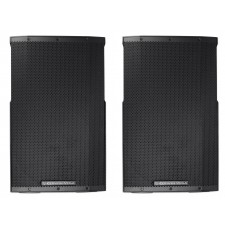 "(2) Cerwin Vega CVE-15 1000 Watt 15"" Powered DJ PA Speakers w/ Bluetooth, DSP"