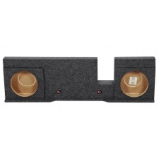 "Dual 10"" Subwoofer Sub Box Enclosure For 2004-2008 Ford F150 Xcab or SuperCrew"