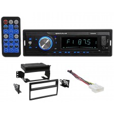 Rockville In-Dash Digital Media Bluetooth Receiver For 2007-2011 Nissan Versa