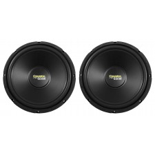 """2) Coustic By MTX C124 12"""" 1000 Watt Car Subwoofers, High Performance 4-Ohm Subs"""