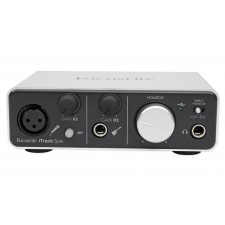 Focusrite ITRACK SOLO LIGHTNING USB Audio Recording Interface+Headphones