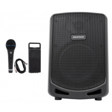 """Samson Expedition Escape 6"""" Rechargeable Powered PA DJ Speaker + Microphone"""