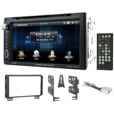 """2004-05 Lincoln Aviator In-Dash 6.5"""" DVD/CD Player Receiver Monitor w/ Bluetooth"""