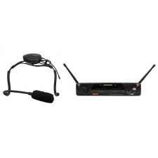 Samson Airline 77 Wireless Fitness Aerobics Headset UHF Microphone Mic System