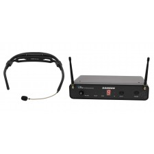 Samson Airline 88 Headset Wireless UHF Microphone Fitness System 16-Channel