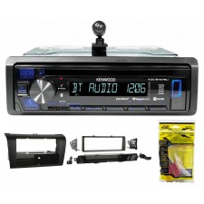 Kenwood CD Radio Receiver w/Bluetooth iPhone/Android/ For 2004-2009 MAZDA 3
