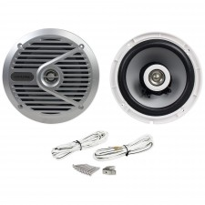 """New Alpine M601 Pair 6.5"""" 2-Way Marine/Boat Weather Resistant Coaxial Speakers"""