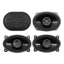 "2) Hifonics ZS693 6x9"" 800 Watt Car Audio Coaxial Speakers+2) 4x6"" 400w Speakers"