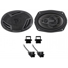 Rockville Rear Factory Speaker Replacement For 1994-2005 Chevrolet Chevy Malibu