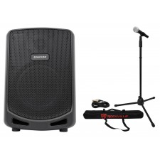 "Samson Expedition Escape 6"" Portable Rechargeable Active Bluetooth PA DJ Speaker"