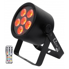 Chauvet DJ EZ Par T6 USB Battery Operated Tri-Colored RGB DMX Wash light D-Fi