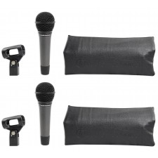 Pair Audio Technica ATM410 Cardioid Dynamic Microphones, HI-Energy Neo Magnet