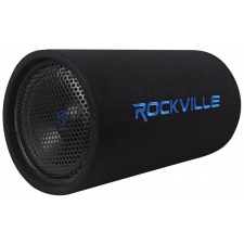 Rockville RTB10A 10 500w Powered Subwoofer Bass Tube + Bass Remote