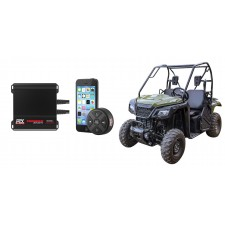 Honda Pioneer 400w RMS 4-Channel Weather Proof Amplifier+Bluetooth Controller