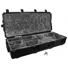 SKB 3i-4217-30 Acoustic Guitar Case, Black, Waterproof, TSA Latches, Wheels