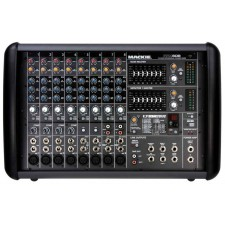 Mackie PPM608 8 Channel 1000 Watt Pro Active Powered Mixer with 32 Bit FX