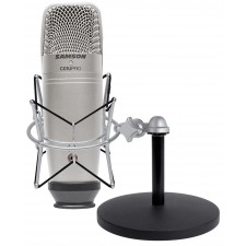 Samson C01U Pro Recording Podcasting Microphone+Shock Mount+Weighted Mic Stand