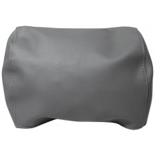 """Pair Grey 7"""" Anti-Theft Faux Leather Headrest Monitor Cover"""