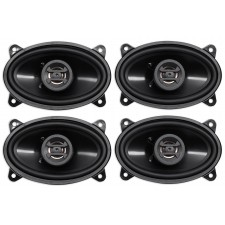 "(4) Hifonics ZS46CX 4x6"" 800 Watt Coaxial Car Audio Speakers"