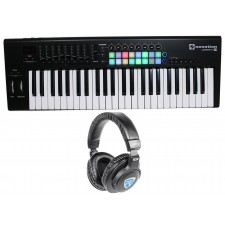 Novation LAUNCHKEY-49-MK2 49-Key USB MIDI Keyboard Controller + Headphones