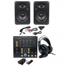 Presonus Monitor Station V2 Control Center+(2) Studio Monitors+Studio Headphones