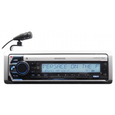 Kenwood KMR-D772BT Single-Din Marine Boat CD Receiver w/Bluetooth USB/MP3/WMA