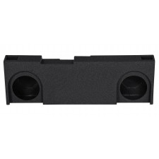 "Dual 12"" Ported Vented Subwoofer Sub Box Enclosure For 14-15 GM/Chevy Crew Cab"