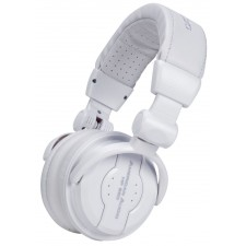 American Audio HP550 Snow White Over-the-Ear High-Powered DJ Headphones