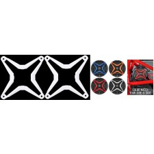 SSV WORKS WP-CGS-W White Grille 4 WP-A6 Speaker To Color Match RZR/ATV/UTV/Cart