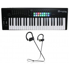 Novation LAUNCHKEY-49-MK2 49-Key USB MIDI Ableton Keyboard Controller+Speaker