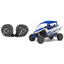 """6.5"""" Waterproof Speakers for Yamaha YXZ All-Years+ Front Kick Panel Enclosures"""