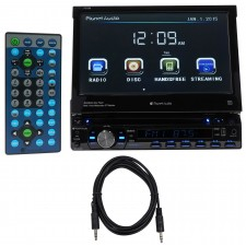 "Planet Audio P9759B 7"" 1-Din In-Dash Car DVD Receiver w/ Bluetooth USB/SD+Cable"