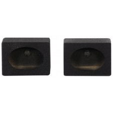 "(2) Rockville RS6x9BL 6x9"" Wedge Sealed Car Speaker Box Enclosures w/Bedliner"