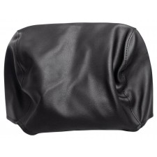 """Pair Black 9"""" Anti-Theft Faux Leather Headrest Monitor Cover"""