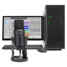Samson G-Track Pro Gaming Twitch Microphone Streaming Recording Game Mic
