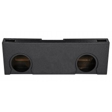 "Dual 10"" Vented Ported Subwoofer Sub Box Enclosure For 07-13 GMC/Chevy Crew Cab"