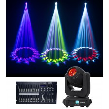 Chauvet DJ Intimidator Beam 140SR Moving Head Beam Club/Stage Light+Controller
