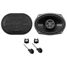 1999-2004 Chrysler 300M Hifonics Rear Factory Speaker Replacement Kit