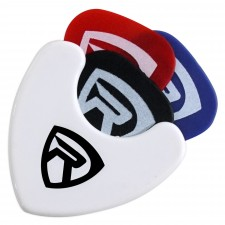 Rockville PH-White Pick Holder with Sticky Adhesive - Holds 3 to 4 Picks