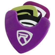 Rockville PH-Purple Pick Holder with Sticky Adhesive - Holds 3 to 4 Picks