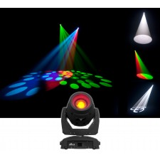Chauvet DJ Intimidator Beam 355 IRC 100w Moving Head Beam Wash Light+Gobo Wheel