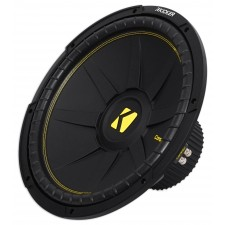 (2) KICKER 44CWCD154 CompC 15 2400w DVC 4-Ohm Car Audio Subwoofers Subs CWCD154