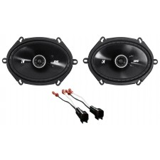 """2011-2015 Ford F-650/750 Kicker 6x8"""" Front Factory Speaker Replacement Kit"""