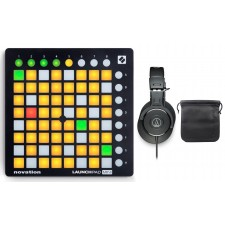 Novation LAUNCHPAD MINI MK2 MKII MIDI DJ Ableton Controller+ATH-M30X Headphones