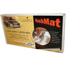 HushMat 10501 door kit with 30 SILVER sheets (58 square feet)