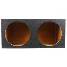 "Rockville Sealed Sub Box Enclosure For (2) MTX Audio 9515-22 15"" Subwoofers"