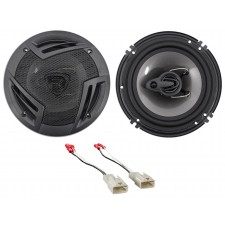 "Rockville 6.5"" Front Factory Speaker Replacement Kit For 2003-08 Toyota Corolla"