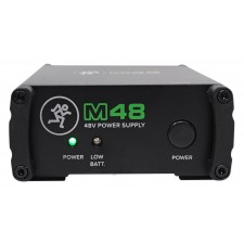 Mackie M48 48v Phantom Power Supply For Studio Gear+Condenser Microphones Mics